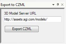 STK - CZML Export Plugin